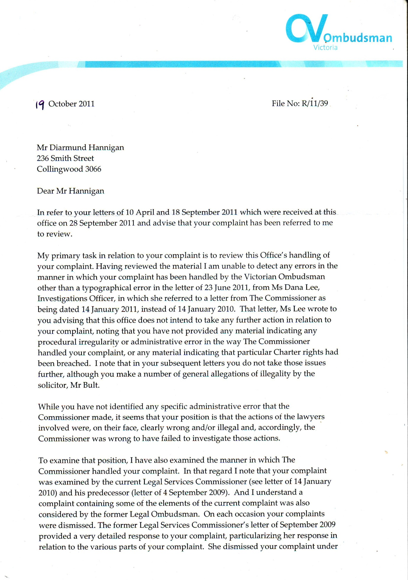 ombudsman reply October 2011 001