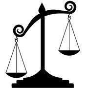 Imbalanced scales of Justice
