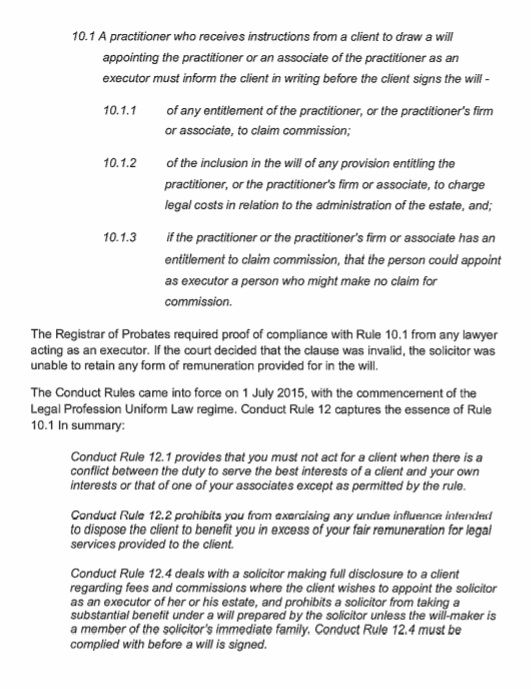 Letter from Law Institute of Victoria Pg2